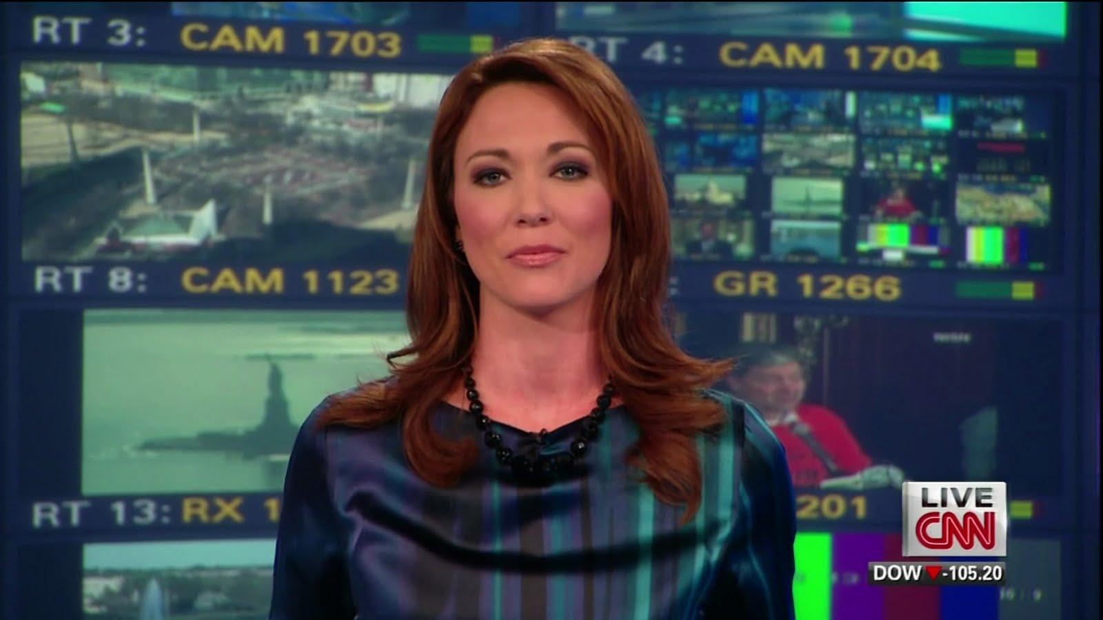 Exceptional Brooke Baldwin, American TV Anchor, Hosts CNN Newsroom. Part 21