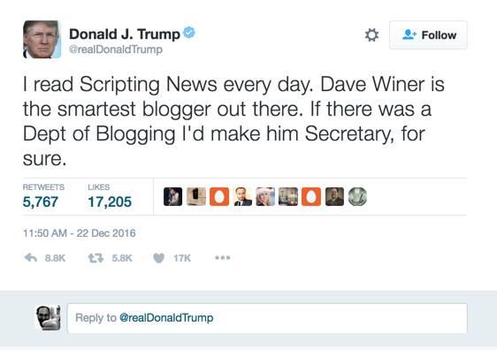 Donald Trump did not tweet this.