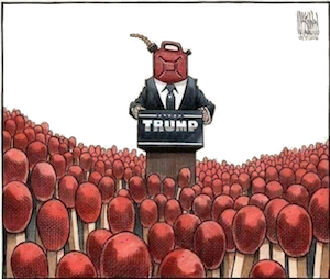 Trump cartoon