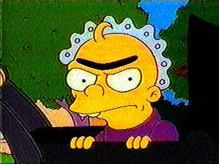 simpsons unibrow baby