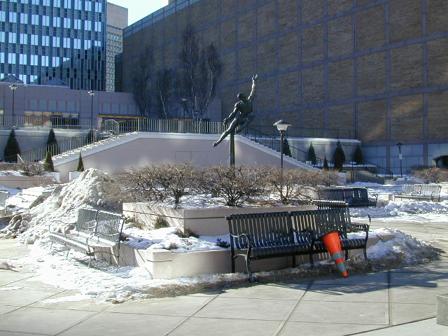 Cold Boston Plaza: