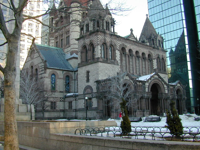 Boston church: